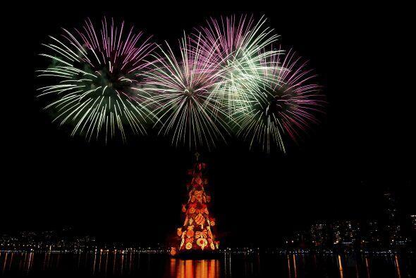 Desde 1996 este uno de los atractivos navideños de Río.