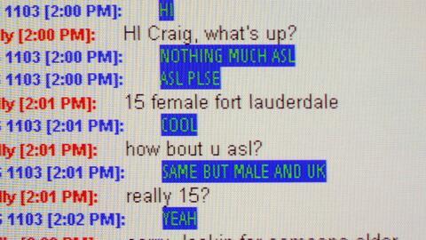 Una conversación de un agente encubierto en la que le ofrecían servicios...