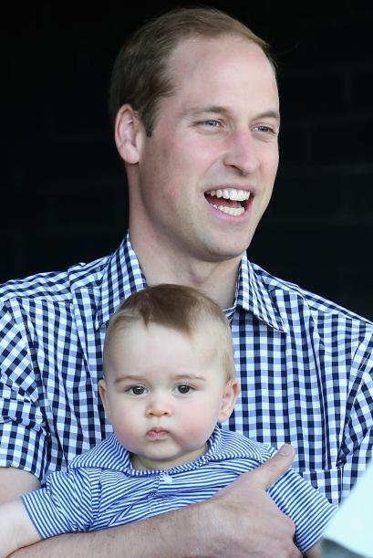 William también estuvo feliz durante el recorrido. Más videos de Chismes...