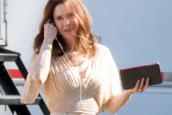 Renée Zellweger se tomó muy en serio su actitud pulcra, sana y en paz, q...