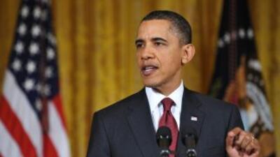 El presidente explicó a los estadounidenses la intervención de su país e...