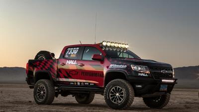 Chevrolet Colorado ZR2 desafía a la competencia todoterreno más extrema
