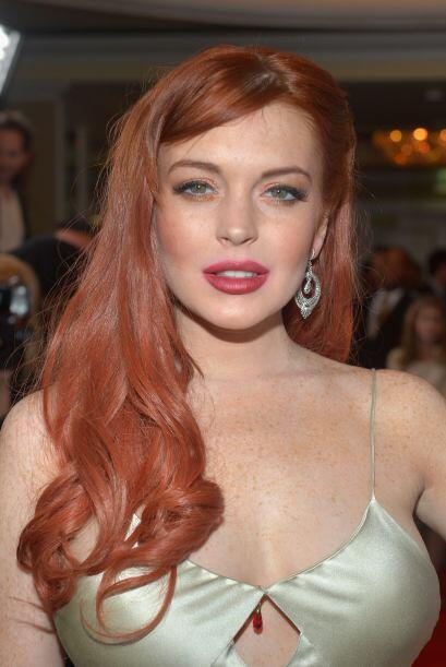 """Lo bueno es que Lindsay Lohan tiene mucha """"bubi"""" para rellenar los descu..."""