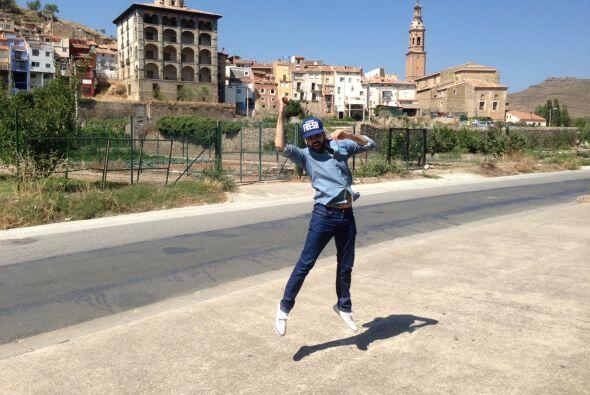 Jomari Goyso se fue a La Rioja,España y pasó unos días inolvidables con...