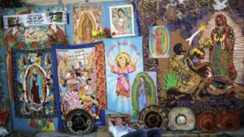 Imágenes de la Virgen de Guadalupe.