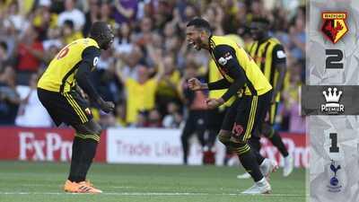 ¡Cenicienta a la vista! Watford suma cuarta victoria al hilo tras vencer al Tottenham