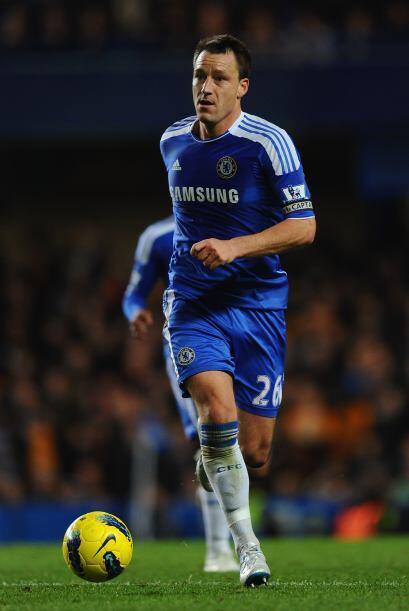 Tenemos al capitán del Chelsea, John Terry.