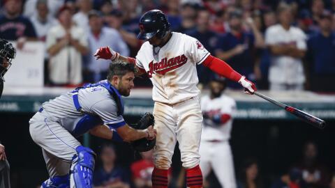 Cleveland Indians dejó en 22 triunfos su racha de victorias.
