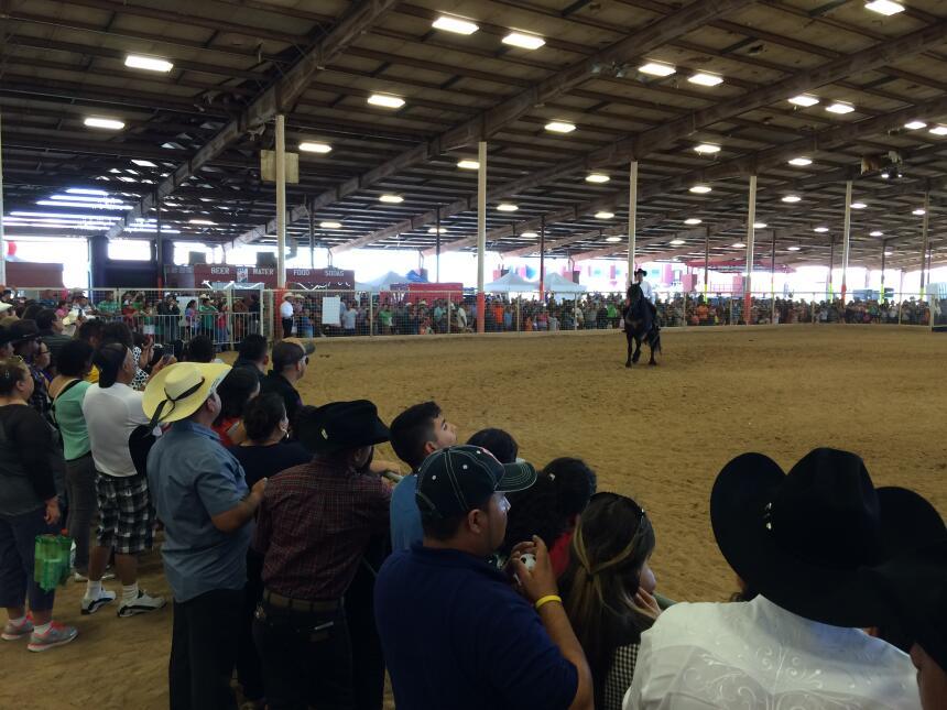 Univision convivió con la comunidad desde el Travis County Expo Center p...
