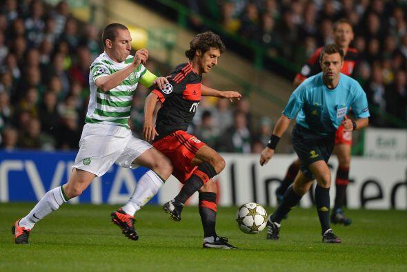 Celtic de Escocia y Benfica de Portugal no lograron hacer goles y dividi...