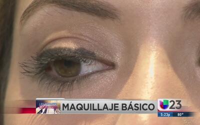 Un minuto contigo: Maquillaje básico