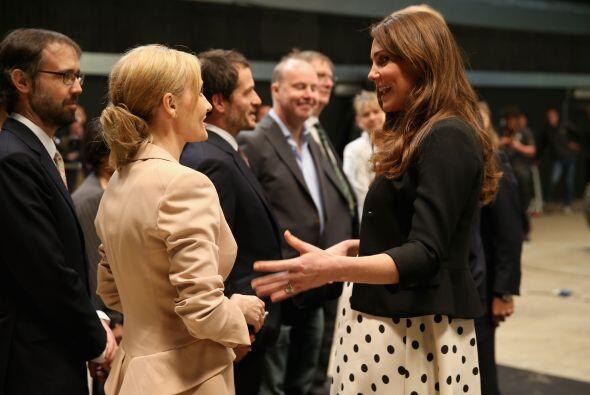 Y Kate estaba entusiasmadísima con la señora Rowling, ¿le habrá pedido a...