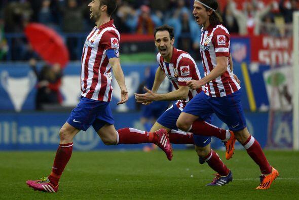 El Calderón se unió en un grito de gol cuando Gabi hizo el 2-1.