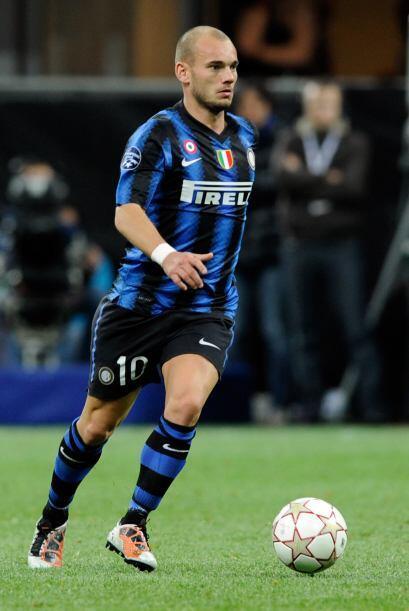 Wesley Sneijder parece haber cumplido un ciclo en el Inter y el Manchest...