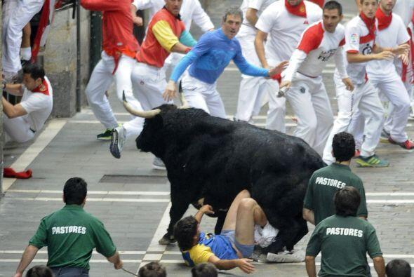 Los heridos del viernes son las primeras víctimas por asta de toro, Otra...