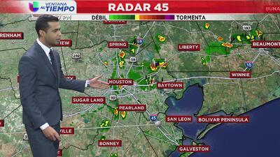 Ventana al Tiempo: Posibilidad de aguaceros ligeros este viernes en Houston