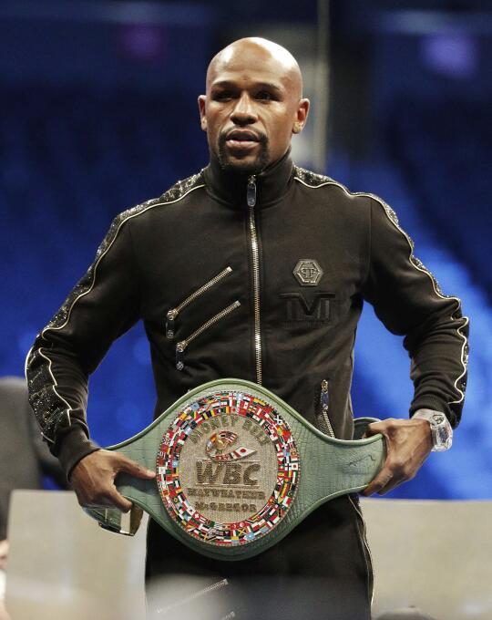 9. Floyd Mayweather (Boxeo) - 785 millones de dólares