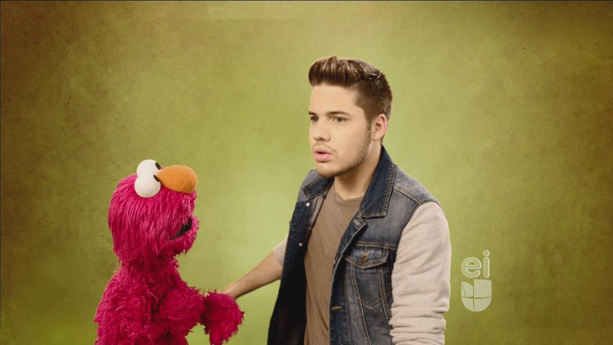 ¡A bailar con Elmo y William Valdéz!