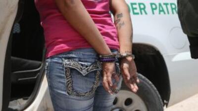 Inmigrante detenida
