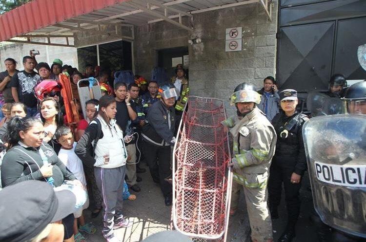 Incendio Guatemala