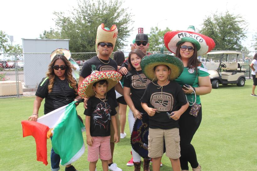 ¡Arrancó la fiesta de la afición mexicana!