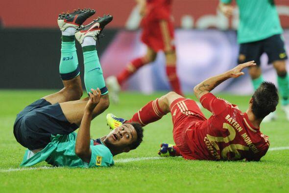 Thiago se mostró muy activo y dejó bien claro que quiere s...