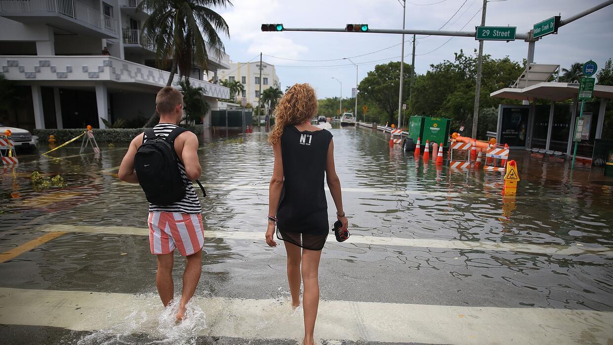 El estudio sitúa a Miami como la ciudad que será más afectada por el aum...