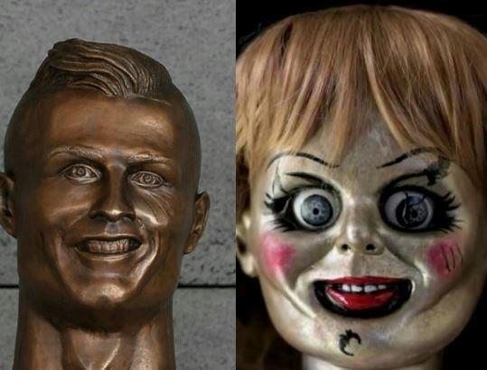 El nuevo busto de Cristiano no se salvó de los divertidos memes 75-4.jpeg