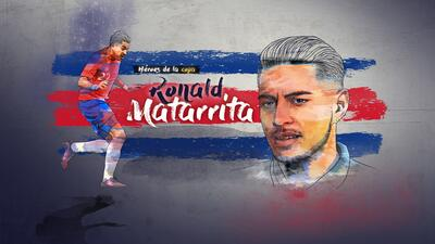Ronald Matarrita Gold Cup Soccer Player