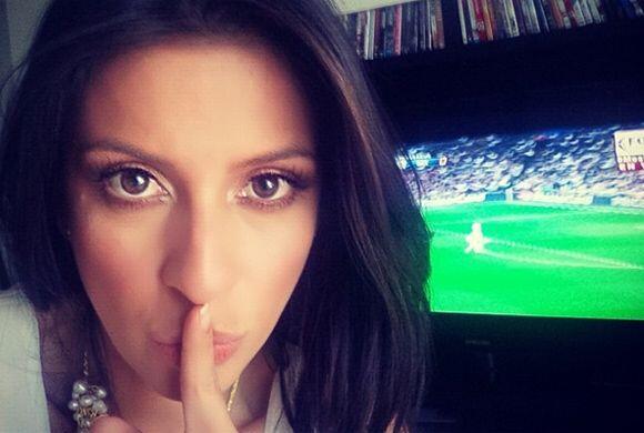 """""""No me interrumpas...estoy viendo #fútbol! #realmadrid #bayernmunich @re..."""