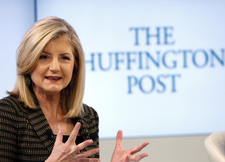 La cofundadora del Huffington Post, Arianna Huffington, también ha tenid...