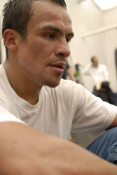 Márquez es uno de los hombres más disciplinados en el boxeo.