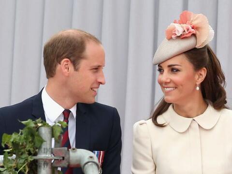 El príncipe William y Kate Middleton están esperando su se...
