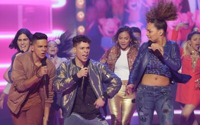 Omar y Argelia les advierten a los de La Banda sobre la fama