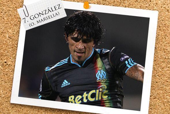 El argentino Lucho González no desentonó con el Marsella y puso en aprie...