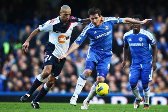 El Chelsea recibió al Bolton en un partido lleno de nervios.