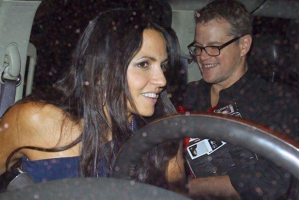 Por cierto señor Damon, ¿por qué no conduce usted s...
