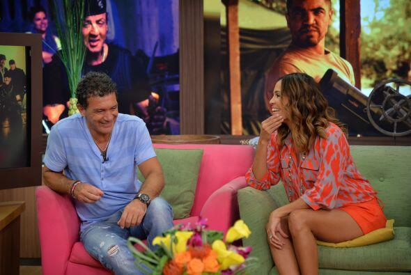 Karla Martínez fue la encargada de entrevistar a estos galanazos que lle...