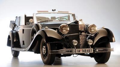 Limusina Mercedes-Benz de Adolfo Hitler sale a subasta