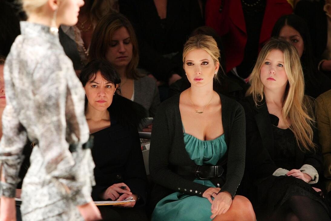 Ivanka Trump en Fashion Week