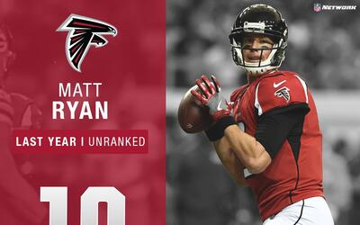 #10: Matt Ryan (QB, Falcons) | Top 100 Jugadores 2017