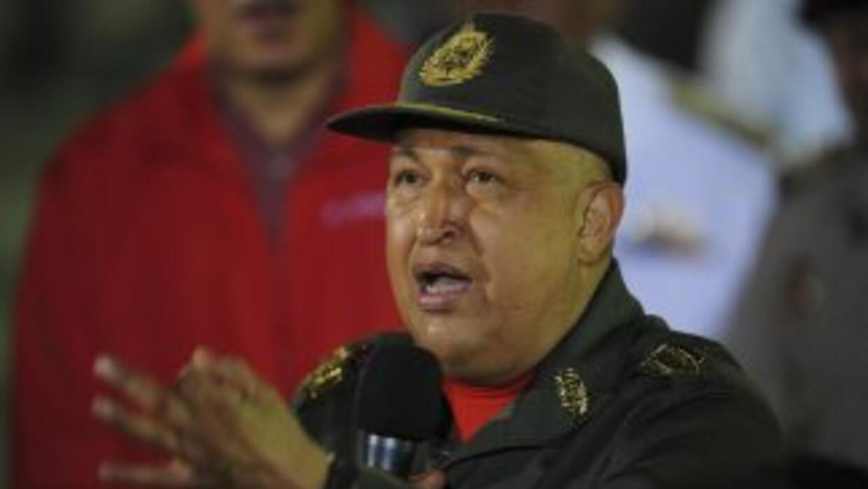 El presidente de Venezuela Hugo Chávez se ha mostrado seguro de que va a...