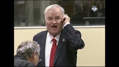 La caída de Ratko Mladic, 'el Carnicero de Bosnia' (fotos)