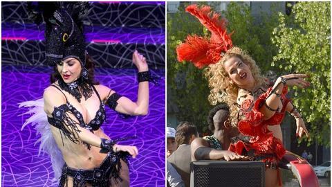 Tenga o no la bendición de Niurka Marcos (derecha), la acriz Susa...