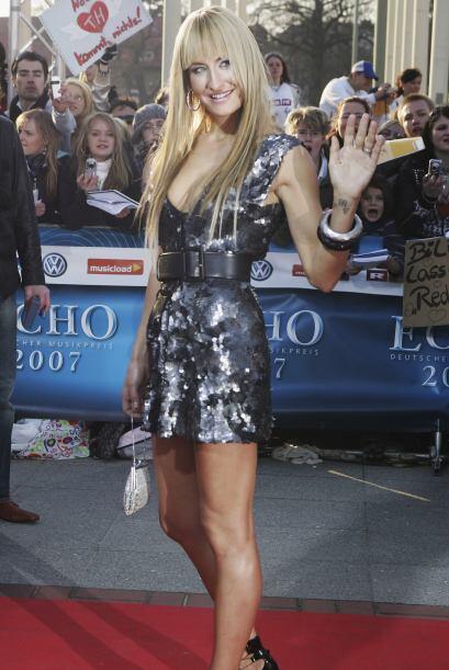 Sarah Connor es una sexy cantante y personalidad de televisión al...