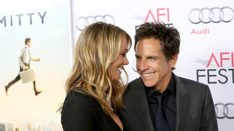 Ben Stiller y su esposa Christine Taylor, otro ejemplo de parejas que go...