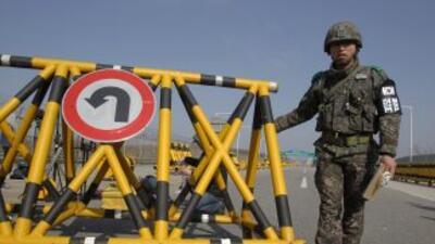 Casi 200 empleados surcoreanos permanecen en Kaesong desde que Corea del...