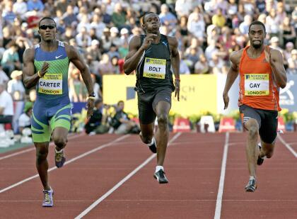 <b>Usain Bolt: </b>el jamaiquino sufrió varias derrotas, pero la más fuerte en su carrera fue la del Grand Prix de Londres en el 2006. En los 200 metros el múltiple campeón Olímpico fue derrotado por sus tres grandes rivales del momento: Tyson Gay, Xavier Carter y Wallace Spearmon.