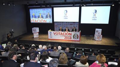 Votación al Salón de la Fama del Fútbol 2018