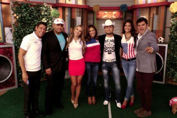 Roberto Tapia y Juan Rivera fueron los invitados especiales de la que fu...
